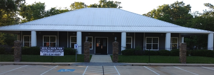 Office Building at Neck & Back Pain Treatment Center